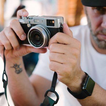 Классический камуфляж Simplr M1a на Fujifilm X100S