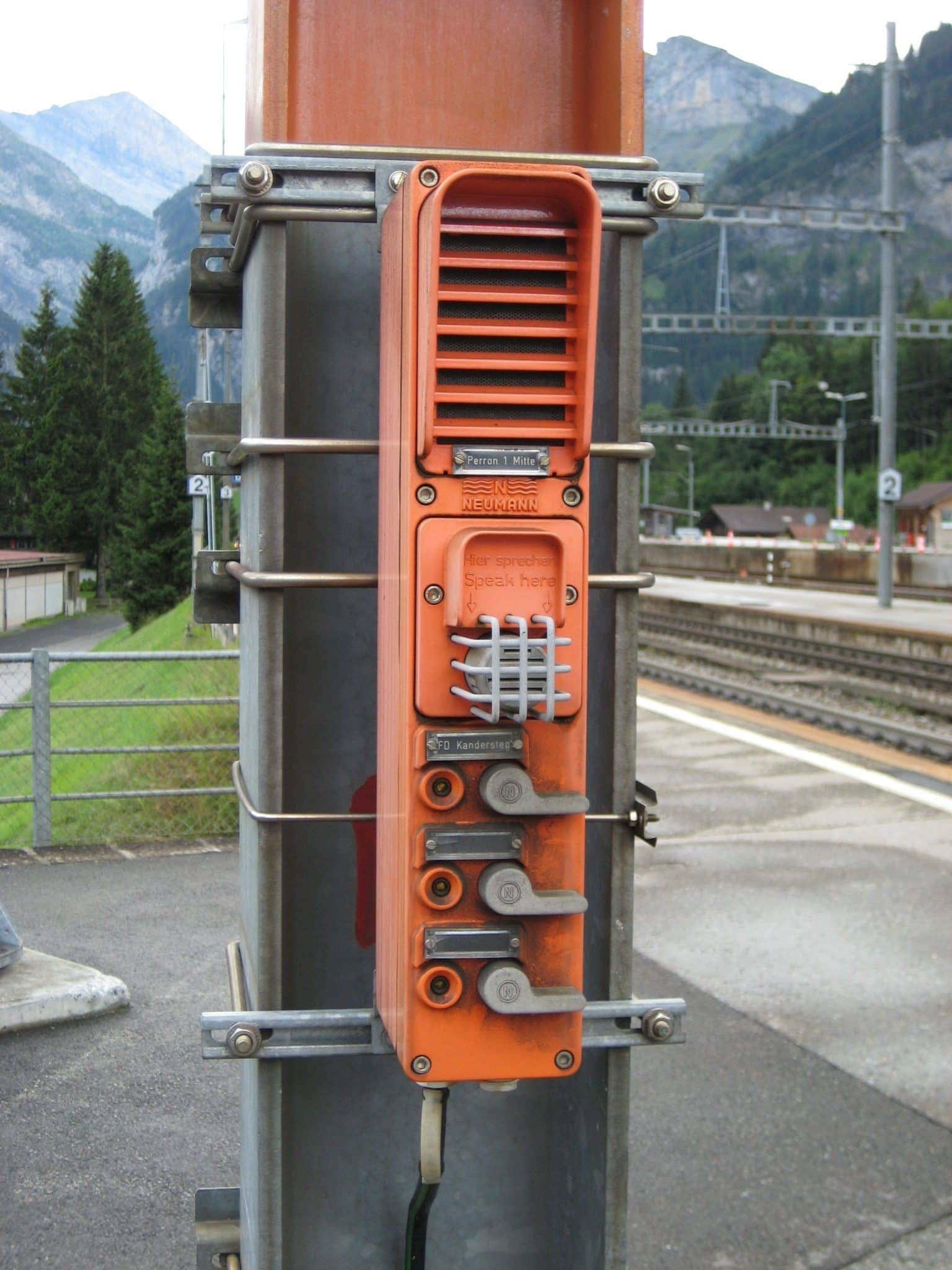 """""""Intercom"""" traukinys Šveicarijoje"""