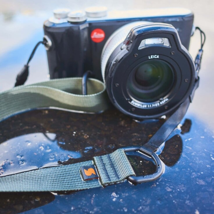 Waterproof Leica with a strap that doesn't mind getting wet