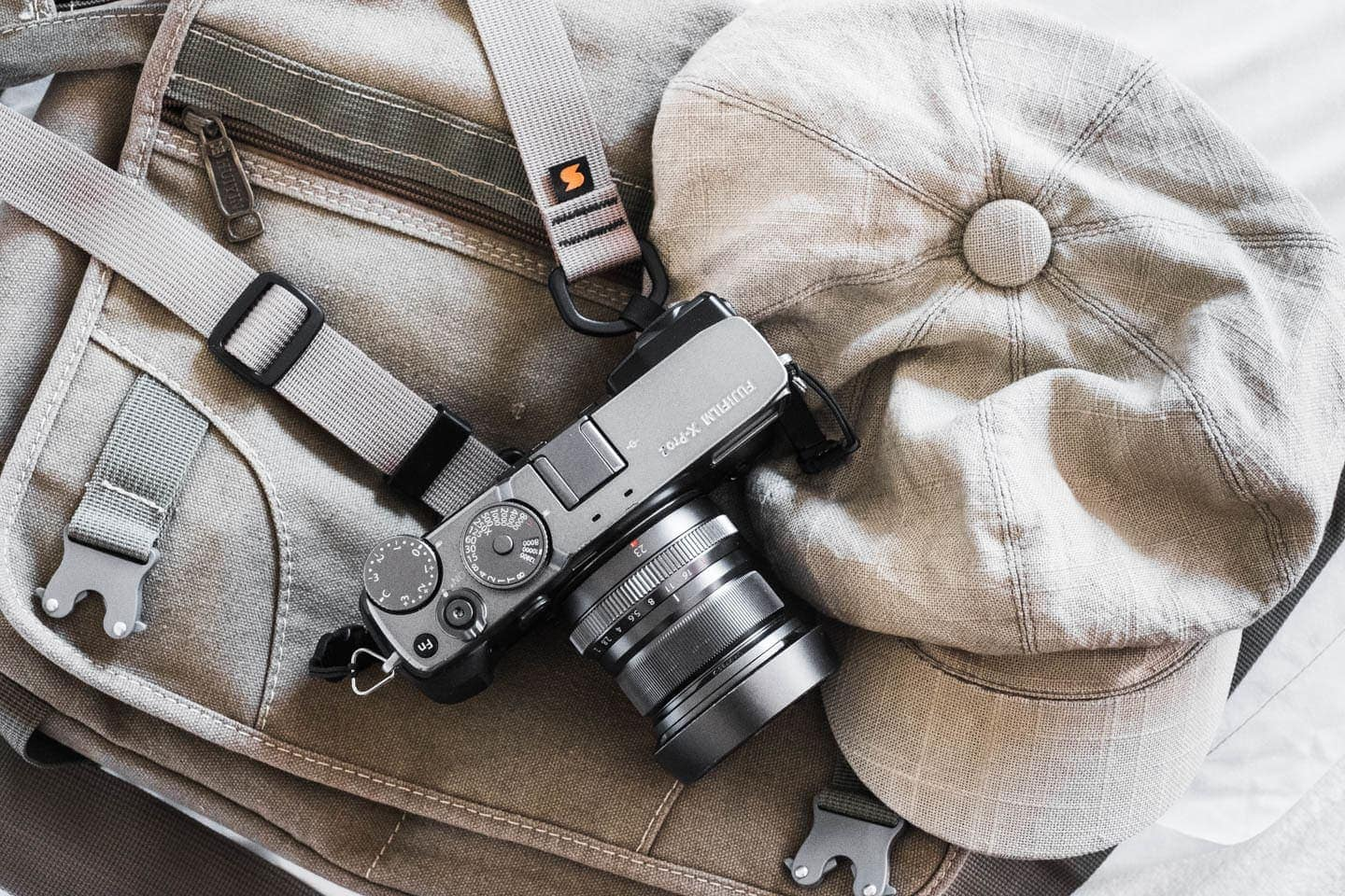 Charlene Winfred's Camera Strap on Her Fuji X-Pro2