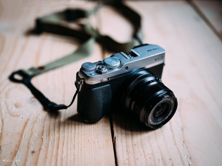 M1a Mirrorless Camera Strap on Kevin Mullins' X-E3