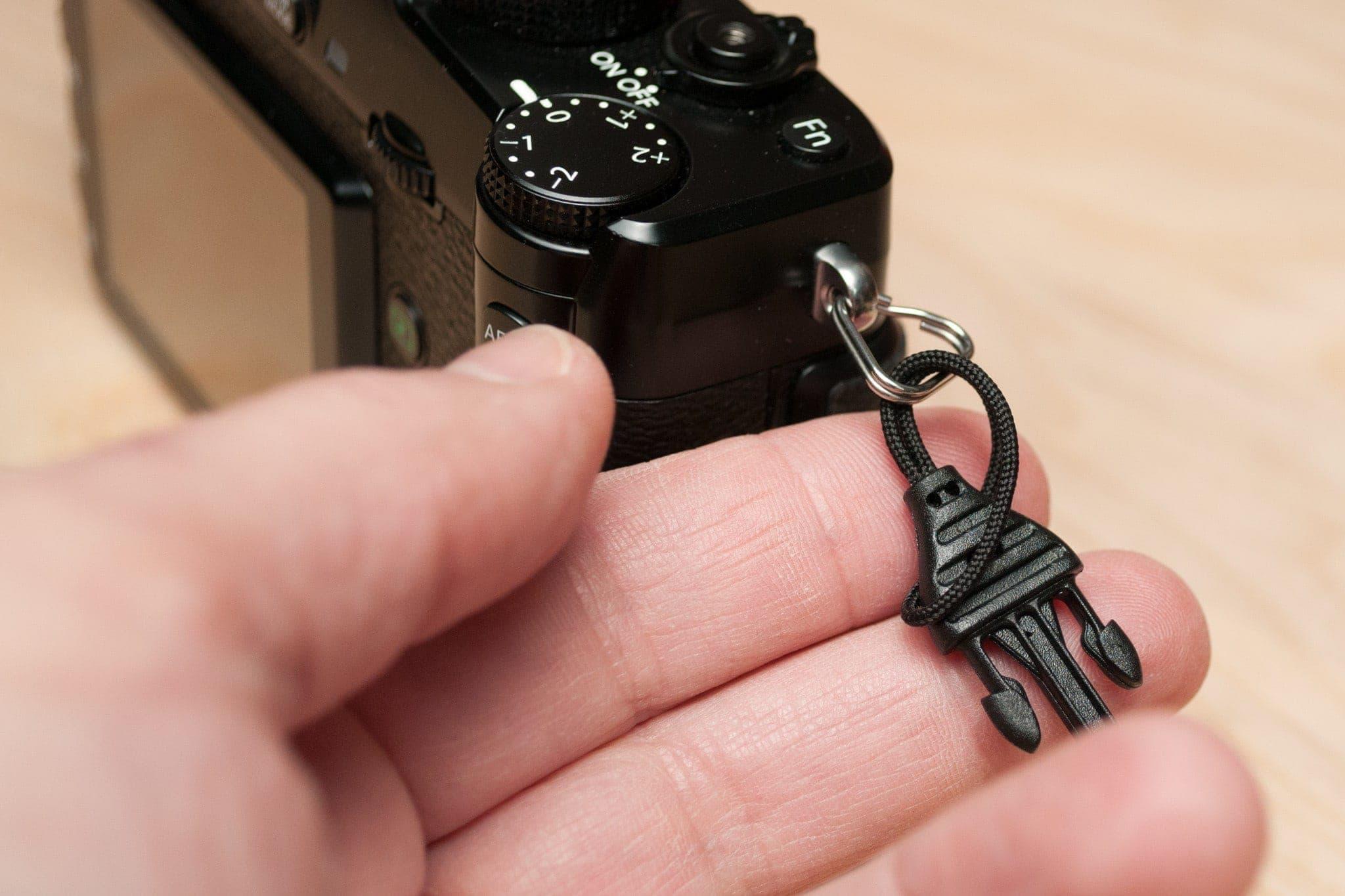 Rosca mini de desconexión rápida a través de la apertura del bucle.