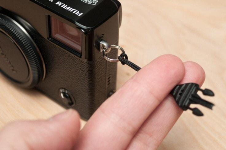 ट्रायंगल कैमरा स्प्लिट रिंग को राउंड कैमरा स्प्लिट रिंग से बदलें