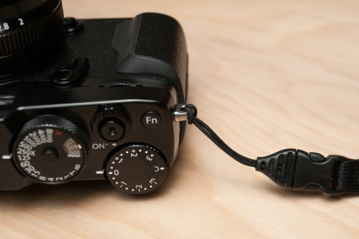 Optech Camera Quick-Release detail