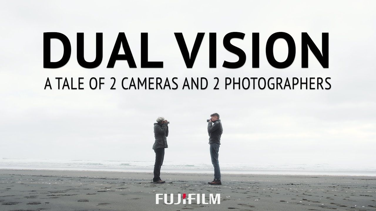Charlene Winfred è Flemming Bo Jensen's Dual Vision Camera Video for Fuji
