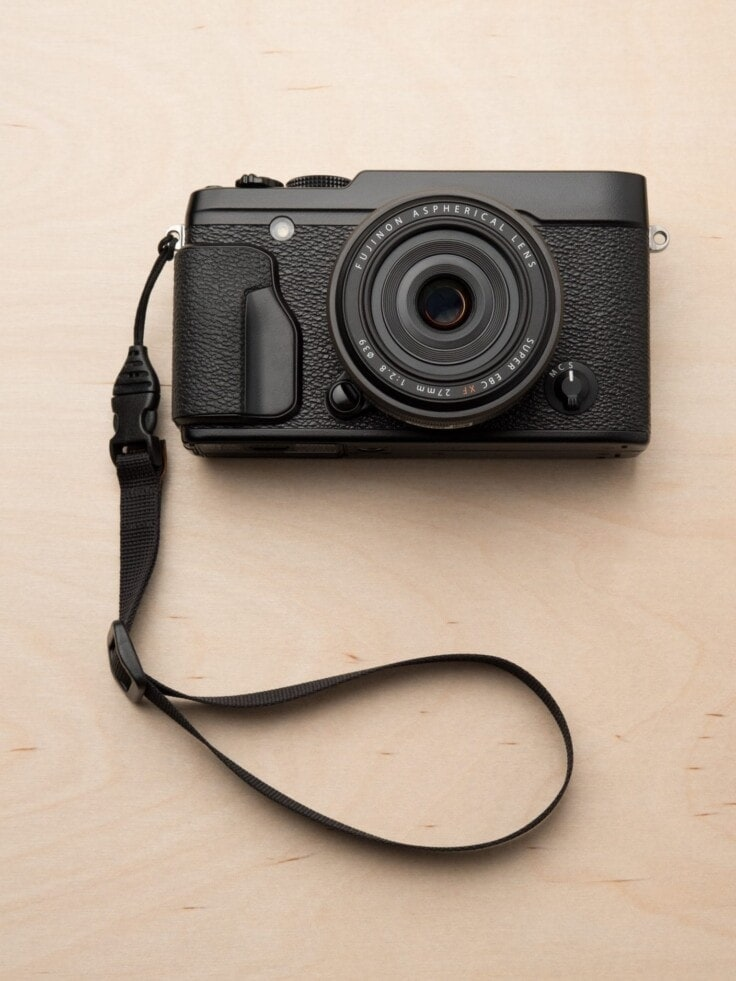 M1w Mirrorless Camera Wrist Strap on Fuji X-Series