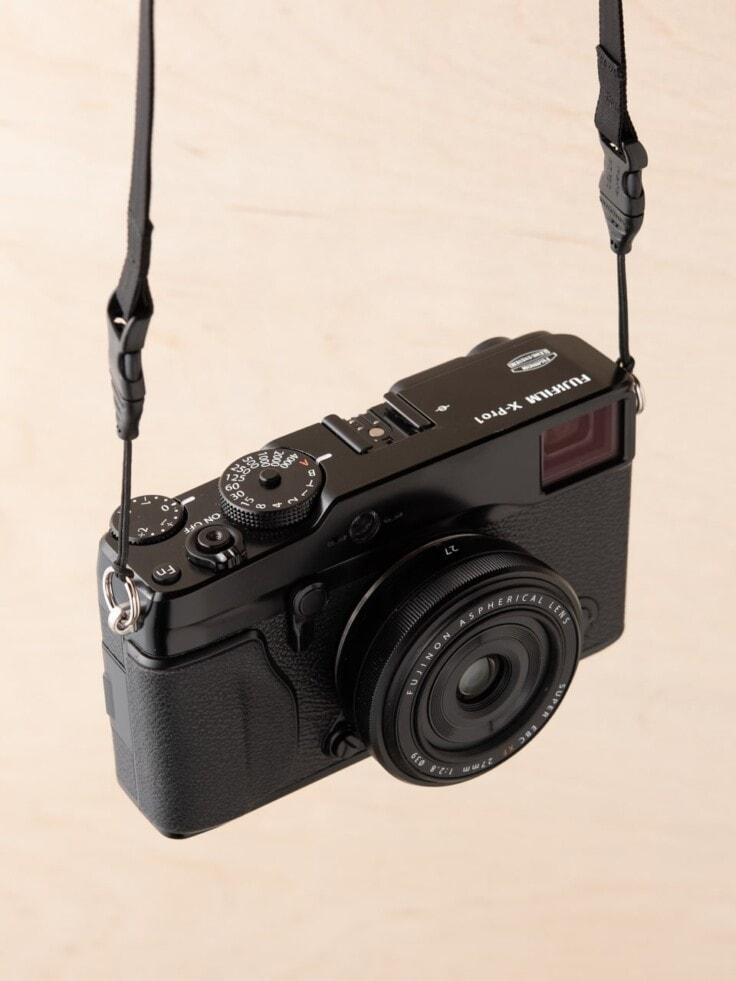 Round Camera Strap Attachment Split Rings with Mini QD Loops