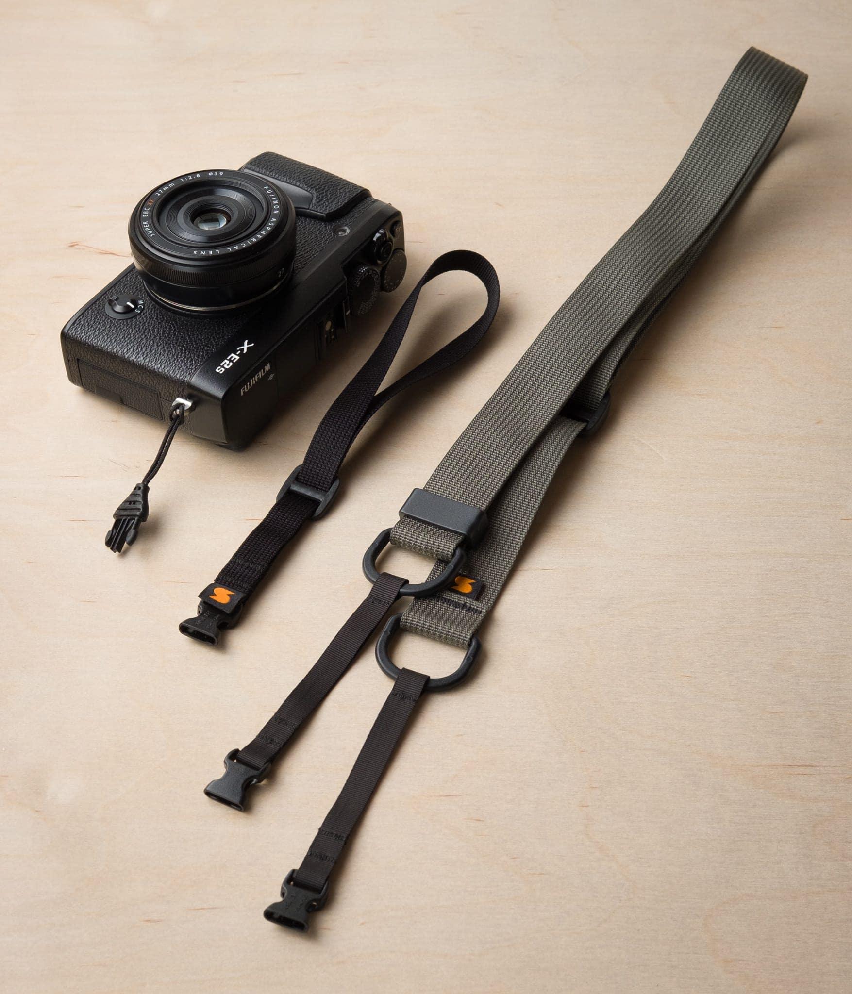 M1 serijos greito atlaisvinimo veidrodinis fotoaparato dirželis