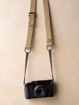 F1 Sling Style Camera Strap on Fuji X-Pro2 in Army Khaki