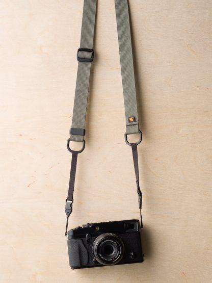 M1ultralight Camera Strap on Fuji X-Pro1 in Castor Gray