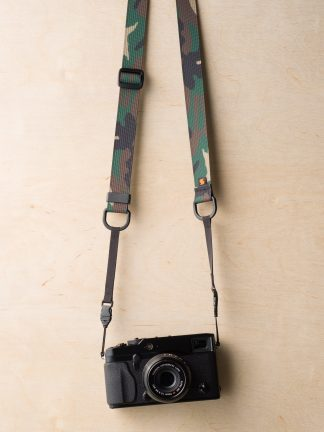 M1ultralight Camera Strap on Fuji X-Pro1 in Camouflage
