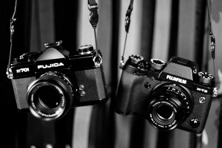 Fujica ST701 и Fujifilm X-T2