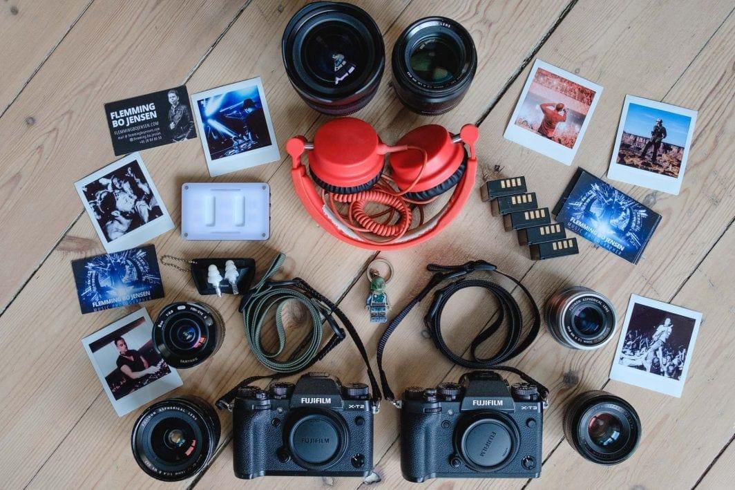 Flemming Bo Jensen Simplr fotoaparato dirželiai