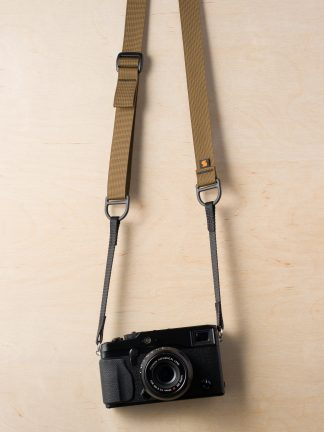 F1 Sling-Style Camera Strap Coyote Brown