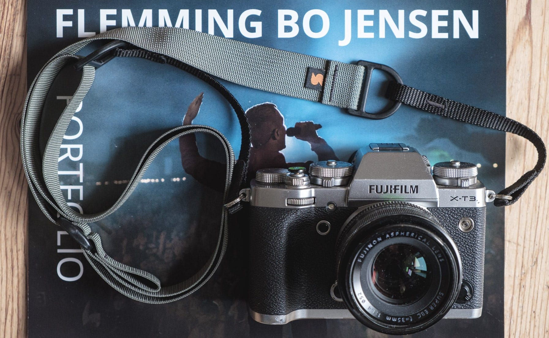 Flemming Bo Jensen reviews his Simplr F1 camera straps