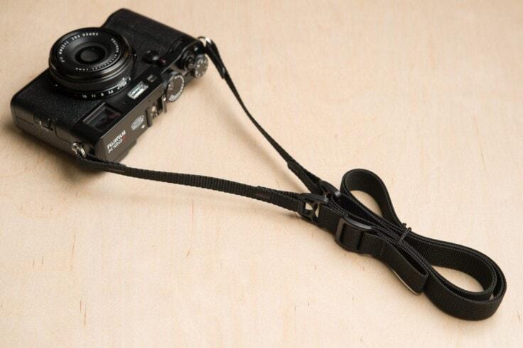 Simplr F1ultralight Camera Strap Detail produk