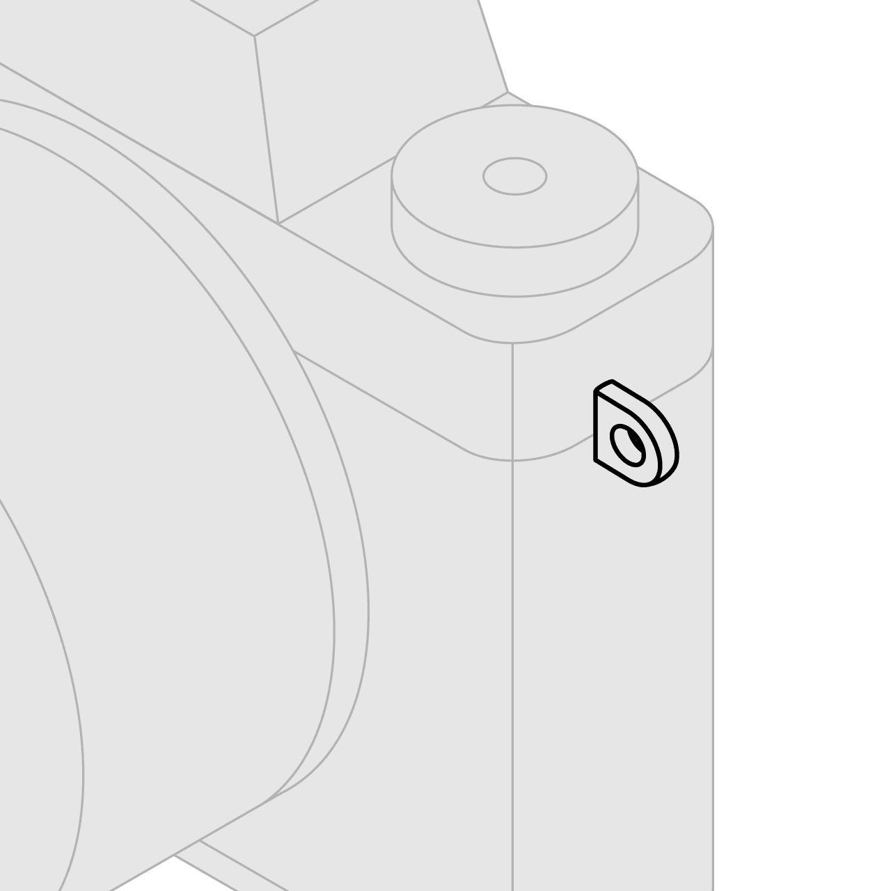 اتصال تسمه دوربین Lug Mount