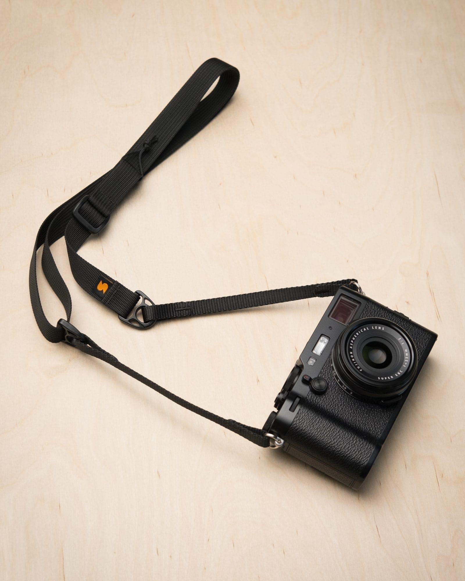 Simplr F1ultralight Camera Strap on Fuji X100