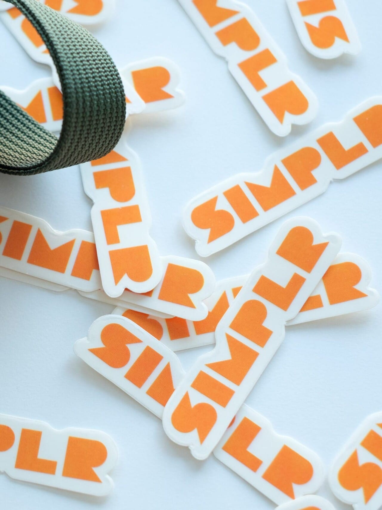 Simplr Logo Stickers