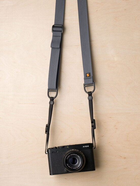 F1 Flat Mount Camera Strap in Wolf Gray